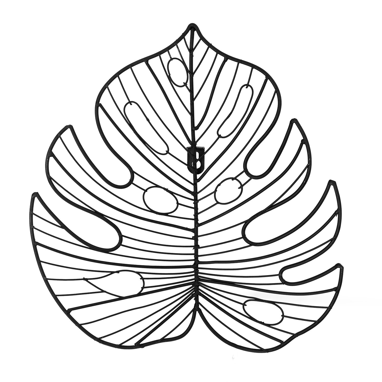 Leaf Iron Art 377 X 406mm Rugs Amp More
