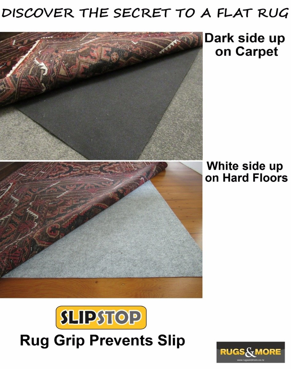 Slipstop Rug Grip Prevents Slip A Non Underlay 80cm Wide X Length Cut To Order Rugs More